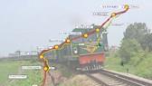 Bản đồ tuyến đường sắt tốc độ cao TP.HCM - Cần Thơ