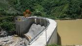 Đập chặn dòng của thủy điện Za Hung (Quảng Nam) - Ảnh: ĐĂNG NAM