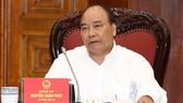 Thủ tướng Nguyễn Xuân Phúc chủ trì phiên họp. Ảnh: TTXVN