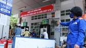 Cửa hàng xăng dầu trực thuộc Petrolimex chuẩn bị điều chỉnh giá.