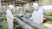 Sản xuất sữa tại Vinamilk. Ảnh: CAO THĂNG