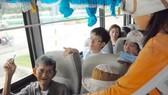 Miễn phí cho người 70 tuổi trở lên đi xe buýt