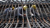 Giá thép xây dựng đã tăng mạnh trong thời gian gần đây Ảnh: Tấn Thạnh