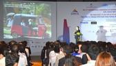 Toàn cảnh phiên khai mạc Hội nghị quốc tế về giao thông khu vực Đông Á lần thứ 12 tại TPHCM.