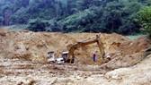 Khánh Hòa cương quyết xử lý, thu hồi các dự án khai thác khoáng sản vi phạm. (Ảnh minh họa: TTXVN)