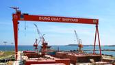 Dự án nhà máy đóng tàu Dung Quất. (Nguồn: dqsy.vn)