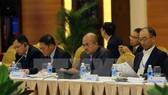 Đại biểu dự phiên họp kỹ thuật thứ 2 Hội nghị các Quan chức cao cấp APEC về Quản lý thiên tai lần thứ 11. (Ảnh: Thanh Tùng/TTXVN)