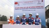 Lễ khởi công xây lắp hệ thống đường ray Dự án tuyến Metro số 1 (Bến Thành – Suối Tiên).