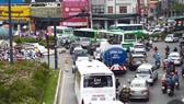 Khu vực gần sân bay Tân Sơn Nhất thường xuyên xảy ra tình trạng xung đột giao thông
