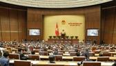 Toàn cảnh phiên họp Quốc hội chiều 24/11. (Ảnh: Văn Điệp/TTXVN)