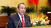 Ông Trương Hòa Bình, Ủy viên Bộ Chính trị, Phó Thủ tướng Thường trực Chính phủ, Phó Trưởng Ban Chỉ đạo Trung ương về phòng, chống tham nhũng. (Nguồn: TTXVN)