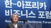 Ngoại trưởng Hàn Quốc Kang Kyung-hwa. (Nguồn: Yonhap/TTXVN)