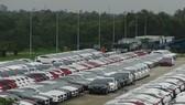 Doanh số bán hàng ôtô giảm trong mùa mua sắm cuối năm