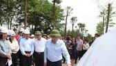 Phó Thủ tướng khảo sát các dự án giao thông trọng điểm của Hà Nội