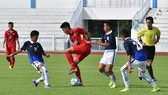 U15 Việt Nam đã có chiến thắng đầu tiên trước Campuchia. Ảnh: Đoàn Nhật