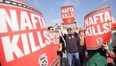 Biểu tình phản đối NAFTA tại San Diego ( Mỹ)