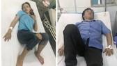 Các công nhân bị bỏng đang cấp cứu tại bệnh viện