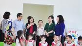 Phó Thủ tướng Vũ Đức Đam kiểm tra cơ sở giáo dục mầm non ở Đồng Nai