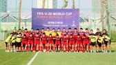 Đội tuyển U.20 Việt Nam tại Cheonan (Hàn Quốc)