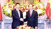 Chủ tịch nước Trần Đại Quang  hội đàm với Tổng Bí thư, Chủ tịch  Trung Quốc Tập Cận Bình