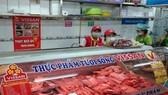 Sản phẩm thịt gia súc tươi sống Vissan trong hệ thống siêu thị của Vincommerce.