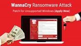 Mục đích tấn công của kẻ phát tán mã độc WannaCry chủ yếu để tống tiền