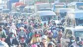 Phương tiện giao thông vào TPHCM từ ĐBSCL theo quốc lộ 1