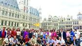 Đoàn khách TST tourist tại châu Âu