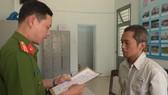 Huỳnh Lâm Huân tại cơ quan điều tra