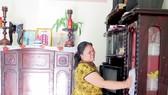 Niềm vui của chị Bùi Thị Kim Thoa trong căn nhà tình nghĩa