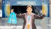 Chử Hoàng Minh Đức tại Hội thi Khoa học kỹ thuật quốc tế  (Intel ISEF) năm 2017 ở Mỹ