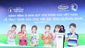 Bà Đặng Thị Ngọc Thịnh - Ủy viên Ban Chấp hành Trung ương Đảng, Phó Chủ tịch nước Cộng hòa Xã hội Chủ nghĩa Việt Nam phát biểu tại buổi lễ