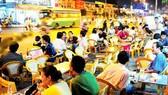 Quán nhậu trong khu dân cư Trung Sơn