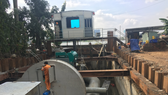 HCMC finds out street flooding reason during mega pump operation