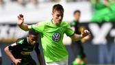 Wolfsburg (phải) không hề sợ hãi khi phải đến sân Volkspark để quyết đấu với chủ nhà Hamburg