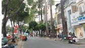 Giao thông trên đường Lê Lợi (quận 1) được điều chỉnh để phục vụ thi công tuyến đường sắt Bến Thành - Suối Tiên