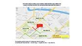 Sơ đồ tổ chức phân luồng giao thông đường Nguyễn Văn Thủ để thi công cáp ngầm