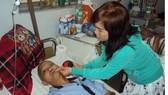 Anh tình đang điều trị tại Khoa Ung bướu Bệnh viện Đa khoa tỉnh Khánh Hòa