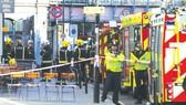 Hiện trường vụ đánh bom tàu điện ngầm tại nhà ga Parsons Green ở thủ đô London hôm 15-9