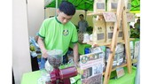 Doanh nghiệp giới thiệu sản phẩm tại phiên chợ Xanh tử tế TPHCM