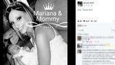 美國愛阿華州女嬰瑪麗安娜(左)的母親(右)在臉書心碎宣布,女兒已於18日上午離開人世;瑪麗安娜出生不到1週演變成病毒性腦膜炎。(圖源:取自妮可臉書www.facebook.com/nicole.sifrit)
