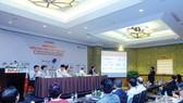 由《投資報》昨(20)日在河內市舉辦的2017年越南併購論壇新聞發佈會。(圖源:德清)