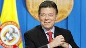 圖為哥倫比亞總統胡安‧曼努埃爾‧桑托斯‧卡爾德龍。(圖源:互聯網)