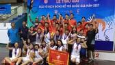 本市男、女子U17隊皆奪得冠軍。