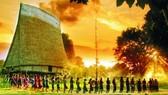 高腳屋是西原少數民族的靈魂。修築高腳屋 的主要材料是竹、木、葉、茅草等。(圖源:互聯網)