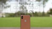 據傳iPhone 8將出新色「古銅金」。 (圖源:YouTube視頻截圖)