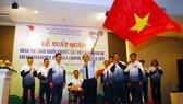 2017年東南亞殘疾人運動會越南體育代表團出征儀式。
