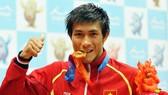 2013年AIMAG運動會中,阮陳唯一奪得57公斤級泰拳項目金牌。