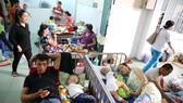 病童在本市第一兒童醫院呼吸內科就醫。
