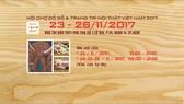 圖為2017年木製品與室內裝璜品展會(VIFA HOME 2017)宣傳海報。(圖源:VIFA HOME)